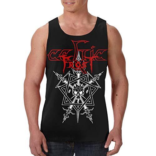 Celtic Frost Tank Top Mens Tee Summer Casual Sport Sleeveless Crewneck Vest Black