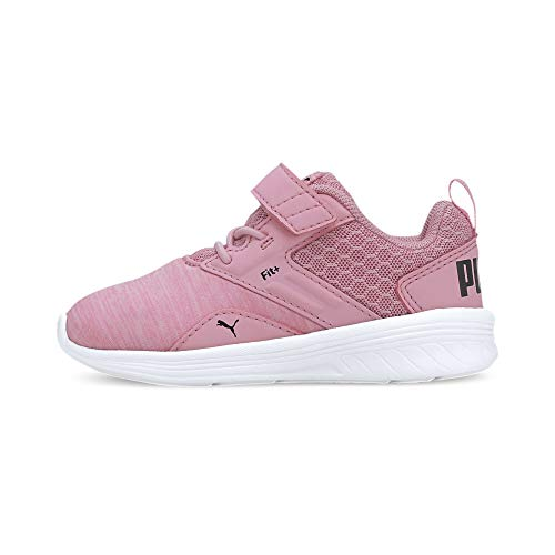 PUMA Unisex Baby Comet V Inf Sneaker, Pale Pink Black White, 25 EU