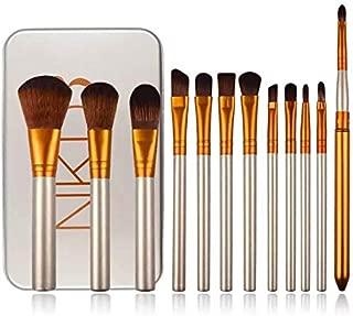 Makeup Brushes Set 12 pcs Professional Premium Cosmetic Brushes for Foundation Face Powder Blush Eyeshadow Brushes