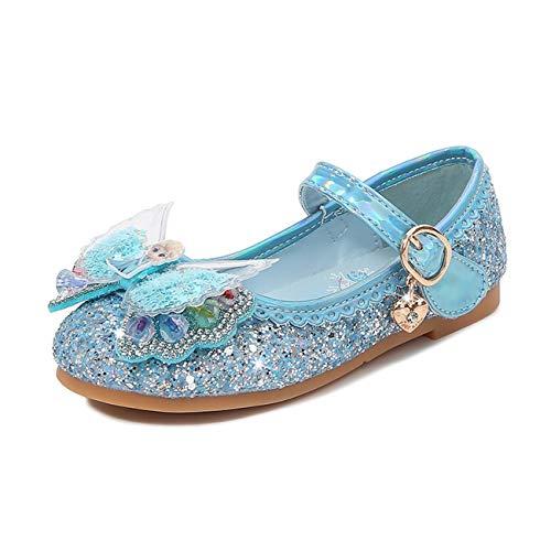 Ramonala Niñas Princesa Zapatos Sandalias Elsa Reina de Nieve Disfraz Zapatos de...