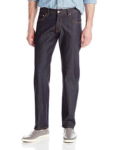 LRG Herren Jeans Rc True Straight Fit 5 Pocket Stretch Jeans - Blau - 46