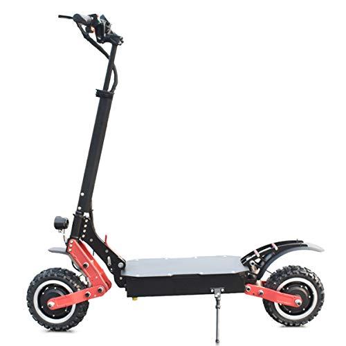 CAMTOP Scooter Electrico Adulto Plegable Patinetes Electricos Adultos Salpicadero LCD 2400W Motor...