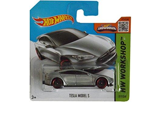 Hot Wheels 2015 Tesla Model S 217/250 by Mattel