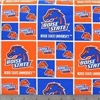 boise state cotton fabric