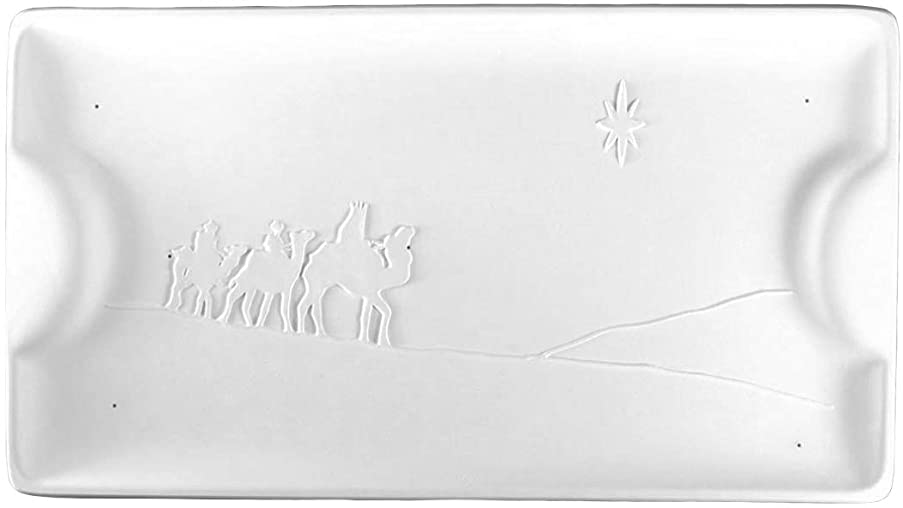 Three Wise Men Handled Serving Tray - Fusible Glass Slumping Mold