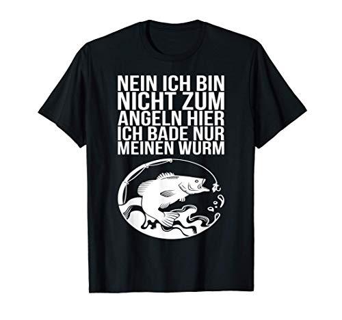 Lustige Angler und Fischer Geschenk Sprüche T-Shirt