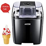 Aicok Ice Cream Maker, 1.6 Quart Automatic Frozen Yogurt and Sorbet Machine, BPA-Free with Timer Function,...