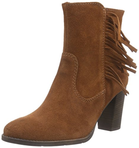 Tamaris Damen 25881 Kurzschaft Stiefel, Orange (Brick 585), 38 EU