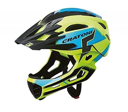 Cratoni Maniac Pro - Casco para Bicicleta de montaña (Talla L/XL/58-61), Color...