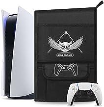 Esimen Capa protetora contra poeira para console PS5/PlayStation 5 Digital Edition, capa de viagem com controle PS5 compat...