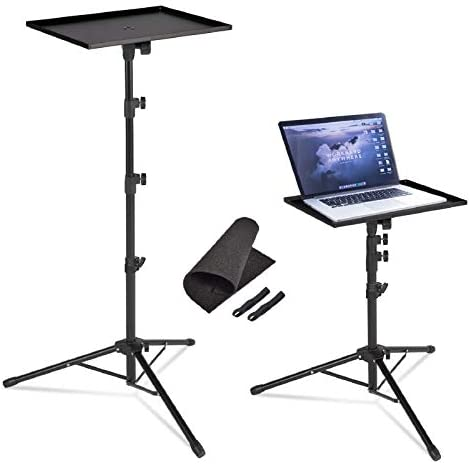 AkTop Pro Laptop Projector Tripod Stand Universal Laptop Floor Stand Adjustable Tall 23 to 63 product image