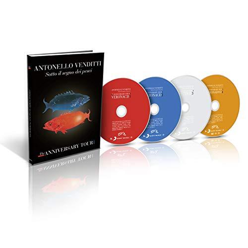 Sotto Il Segno Dei Pesci - The Anniversary Tour (Deluxe Edt. 3Cd+Dvd)