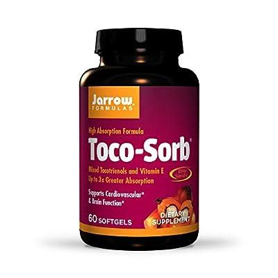 Jarrow Toco-Sorb Mixed Tocotrienols & Vitamin E (60 Softgels) from Jarrow FORMULAS