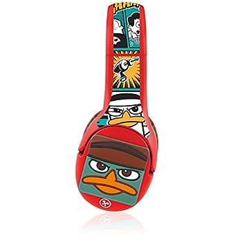 Nabi FUHU Phineas and Ferb Headphone Wrap and 3D Kinabis