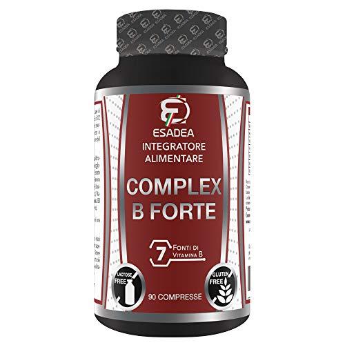 COMPLEX B FORTE 90 cpr: Integratore a base di vitamine del gruppo B. Contribuiscono al metabolismo energetico, riduzione della stanchezza, dell'affaticamento e alla funzione del sistema immunitario