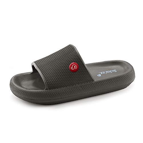 Schu'zz - CLAQUETTE - Zapatillas de deporte para hombre - Ligeras y ultraconfortables - Suela gruesa - Ideales para el hogar, las vacaciones y el ocio
