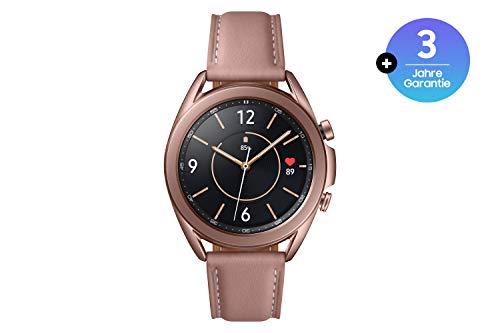 Samsung Galaxy Watch3, runde Bluetooth Smartwatch für Android, drehbare Lünette, Fitnessuhr, Fitness-Tracker + kabellose Bluetooth-Kopfhörer mit Noise Cancelling (ANC)