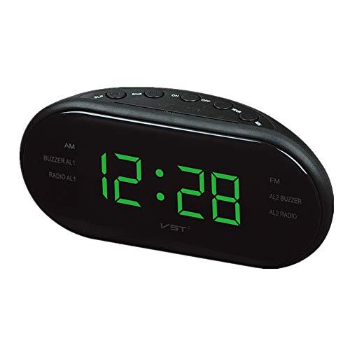 funkuhr projektionswecker Funk mit netzteil Digitaluhren Tischuhr Projektionsuhr Nachttischuhr Digitaluhren Nacht Projektionswecker Green