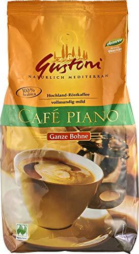 dennree Bio Café piano, ganze Bohne (1 x 1 kg)