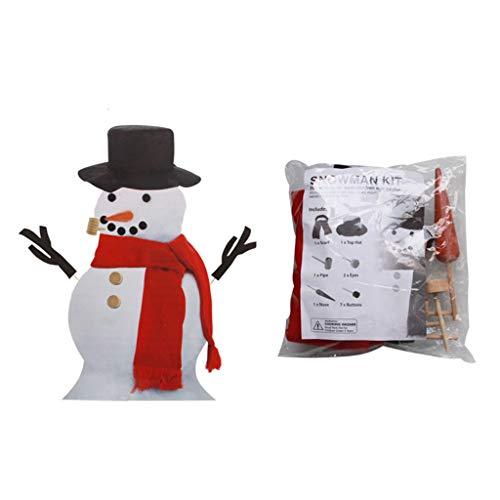 Buran - Disfraz de muñeco de nieve para Navidad, decoración navideña, el mejor regalo