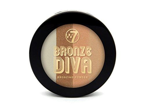 W7 Cosmetics - Bronzer - Bronze Diva - Bronzing Powder - Beach Baby
