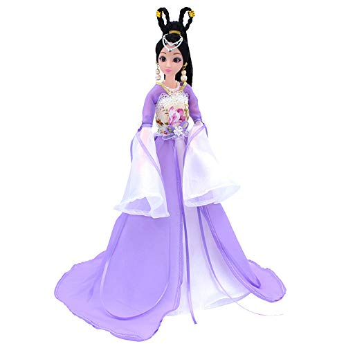 Jilibaba Disfraz de hada antigua muñeca china para vestido