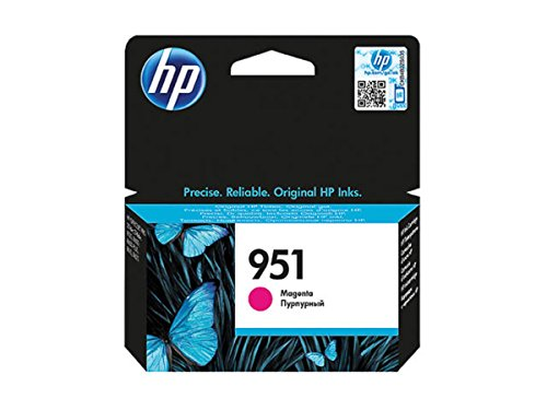 HP Original – HP – Hewlett Packard Officejet Pro 8616 e-All-in-One (951/CN 051 AE) – Cartucho de tinta Magenta – 700 páginas – 11 ml