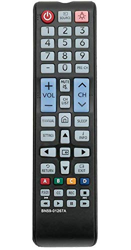 ALLIMITY BN59-01267A Replaced Remote Control Fit for Samsung TV UN24M4500A UN32M4500A UN32M4500AF UN32M530 UN32M5300 UN32M5300AF UN32M530D UN40M5300 UN43M5300 UN49M5300 UN49M5300AF UN50M5300