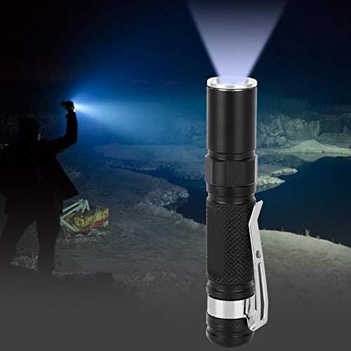 DAUERHAFT Linterna LED telescópica, portátil, Ligera, Ultra Brillante, 2 Piezas para espeleología, Otras Actividades al Aire Libre para Senderismo, Camping