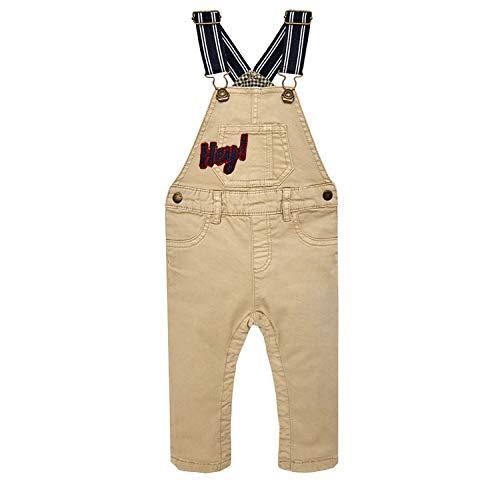 Mayoral - Jungen Latzhose Jeans Hose, beige - 2.666, Größe 98