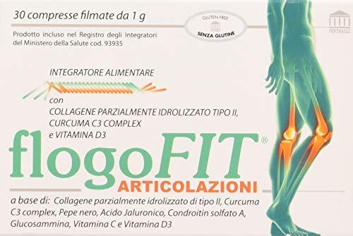 Flogofit Articolazioni Integratore alimentare - artrosi, cartilagini, condropatie