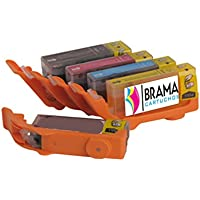 5 X Cartuchos Comestibles compatibles con Canon PGI-570XL Y CLi-571XL. Un cartucho de cada color Pgi 570 Negro, Cli 571 Negro, Cli 571 Cian, Cli 571 Magenta y Cli 571 Amarillo. Revisar compatibilidades antes de comprar