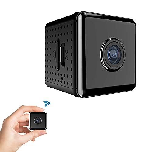 CHENPENG Mini cámaras espía HD 1080P, cámara Oculta WiFi, con visión Nocturna y detección de Movimiento, cámaras diminutas para la cámara de Seguridad Interior al Aire Libre del hogar