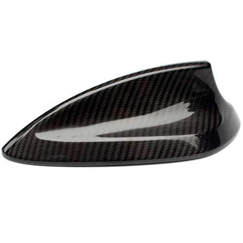 Iycorish Para 1 3 4 5 7 Series Antena de Coche Cubierta Decorativa de Aleta de TiburóN Estilo de Fibra de Carbono Accesorios ABS para M2 M3 M4 F87 F80 F82