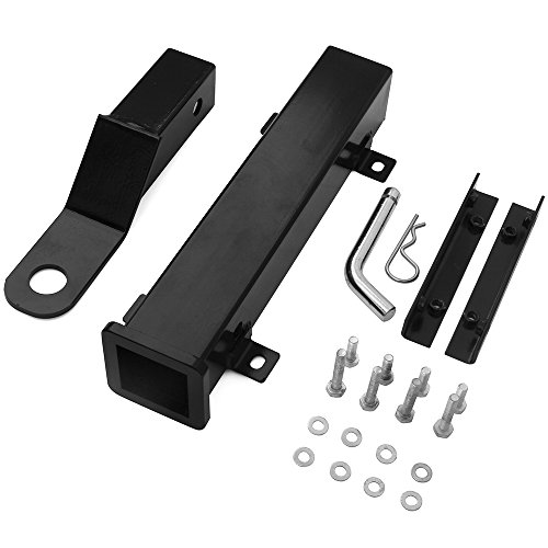 Hodenn Golf Cart Rear Seat Trailer Hitch with Receiver Fit forFootrestClub CarEZGOYamaha