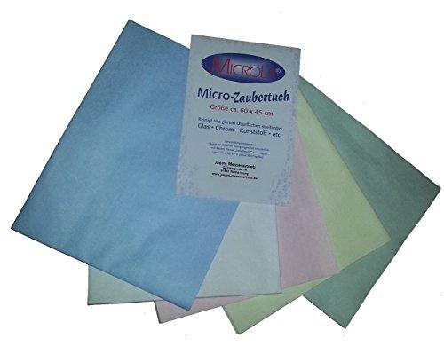 Micro-microla ® zaubertuch nettoyage sans produits chimiques 60 x45 cm twin-set de 2 chiffons