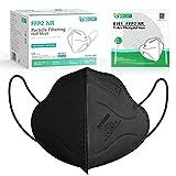 IDOIT FFP2 Maske Mund- und Nasenschutz Maske,40 Stück CE zertifizierte Atemschutzmasken mit 5-lagige Filtration,einzeln verpackt