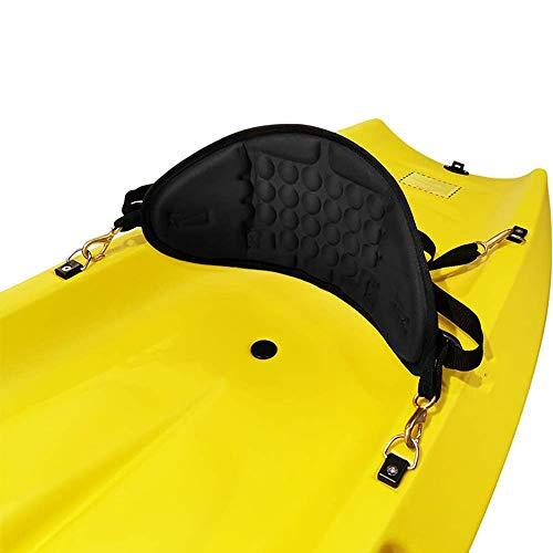 Kayak Rückenlehne, Sit On Top Kajak Seat - Verstellbare Weiche Eva-Material, Anti Skid Unterstützung Rückenpolster - Kajak Kanu Rastsitze für Kinder, Erwachsene