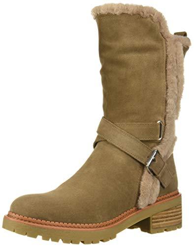 Sam Edelman Women's Jailyn Mid Calf Boot, Taupe, 9.5 Medium US