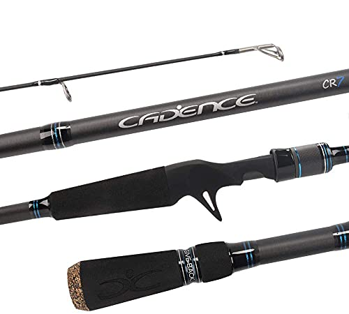 Cadence CR7B Baitcasting Rods Fast Action Fishing Rods Super Lightweight