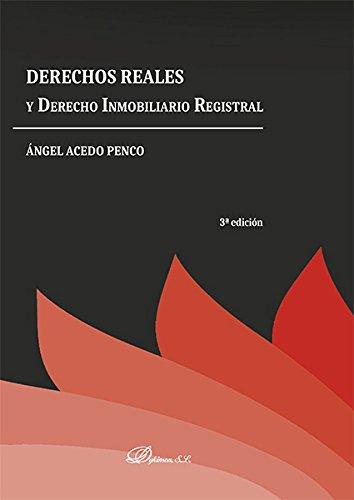 Derechos Reales y Derecho Inmobiliario Registral.