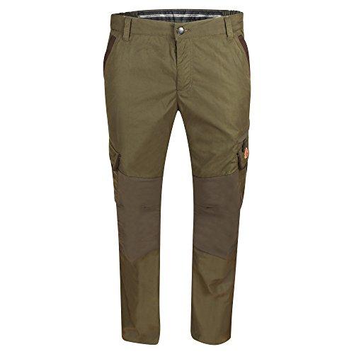 Shooterking Cordura Pantalon de randonnée et de chasse robuste pour homme, marron, 6 (52)