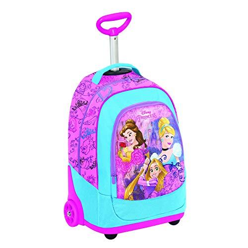 Big Trolley Disney, PRINESS DREAMY DRESS, Rosa, 30 Lt, 2in1 Zaino con spallacci a scomparsa, Scuola & Viaggio