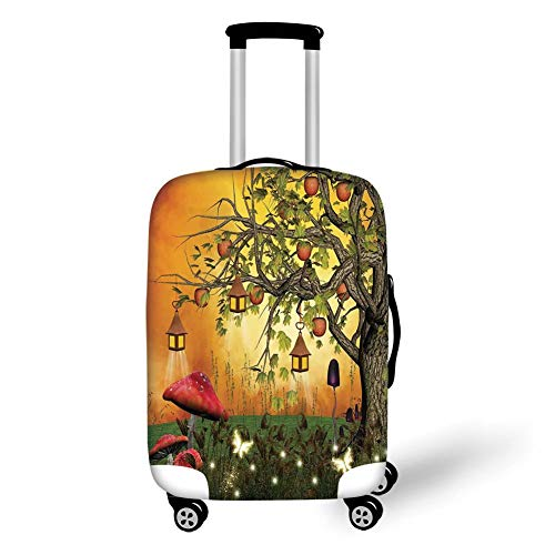 Travel Luggage Cover Suitcase Protector,Fantasy...