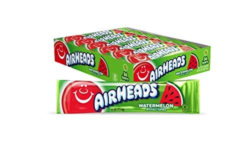 Airheads Watermelon Candy - .55 oz. Bar, 36 Pack by Airheads