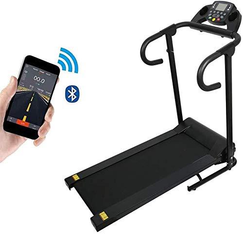 WEHOLY Elektrisches Laufband für motorisierte Laufmaschinen mit Display-Faltgerät zur Fettverbrennung - Bluetooth-Verbindung