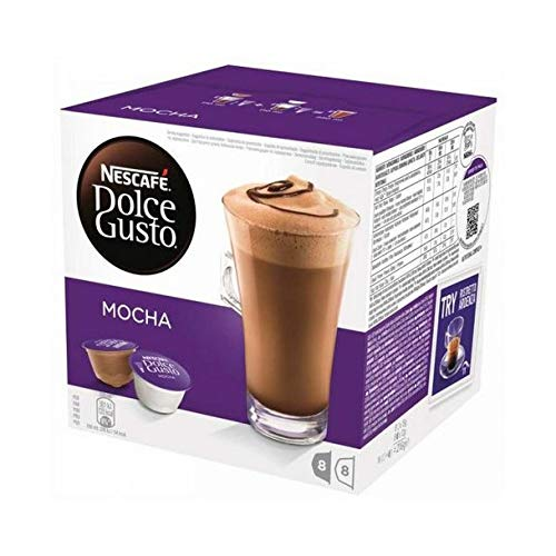 Nescafé Dolce Gusto Kaffeekapseln, Mocha, 16 Kapseln für 8 Getränke, 216 g