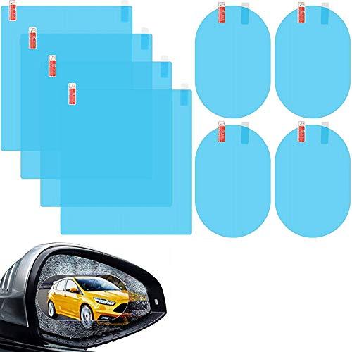 Schutzfolie, für Rückspiegel, wasserdicht, regendicht, Nano-Beschichtung, beschlagfrei, Anti-Beschlag-Schutz, Antireflex