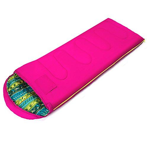QFFL shuidai Sac de Couchage Enveloppe/Adultes / Outdoor Camping Randonnée/Sac de Couchage rectangulaire en Coton Sac de Compression (2 Couleurs Disponibles) (180 + 30) * 75cm