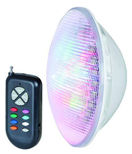 Gre LEDP56CE Lámpara Led Color para Piscina Enterrada PAR56, 9 W, 900 lúmenes
